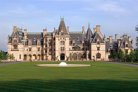 front view of Biltmore House