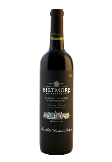 Biltmore Estate Wine Club Exclusive Cabernet Sauvignon-Cabernet Franc Sonoma County 2013
