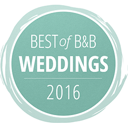 best of B&B weddings logo