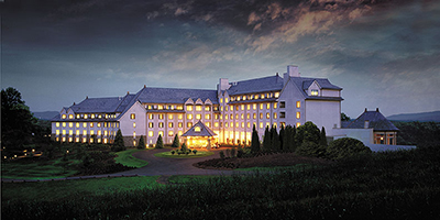 Inn on a cool winter evening & Christmas At Biltmore | Biltmore