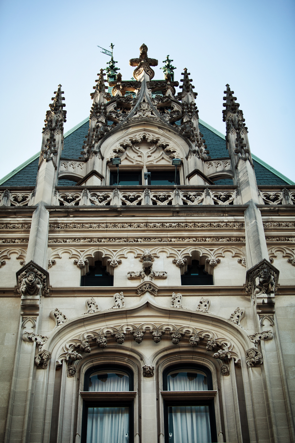 Architectural detail of the Biltmore House