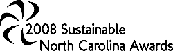 2008 Sustainable North Carolina Awards logo