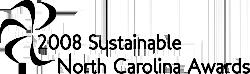 2008 Sustainable North Carolina Awards logo