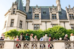 Tour group at Biltmore House