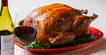 Simple Brined and Roasted Turkey