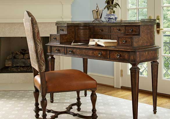 the right desk for writing biltmore