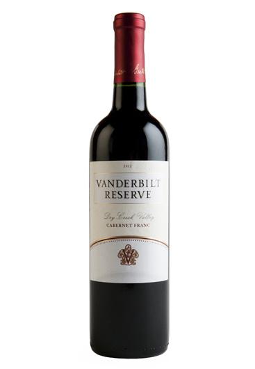 Vanderbilt Reserve Cabernet Franc Dry Creek Valley 2012