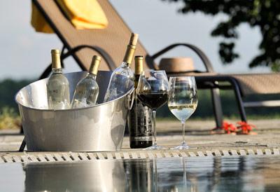 Summer wines on ice