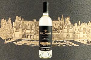 bottle of muscat canelli wine