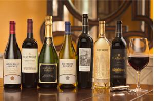 Bottles of wine from the full portfolio offering