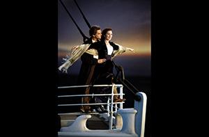still of movie Titanic