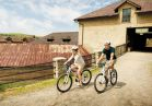 Lots of fun outdoor activities to enjoy, including bike rentals and trails, hiking, horseback riding, and more.