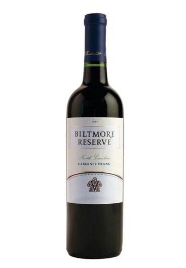 Biltmore Reserve Cabernet Franc North Carolina 2014