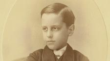 George Vanderbilt in 1862