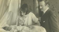 1925 John and Cornelia Vanderbilt Cecil's first son, George Henry Vanderbilt Cecil