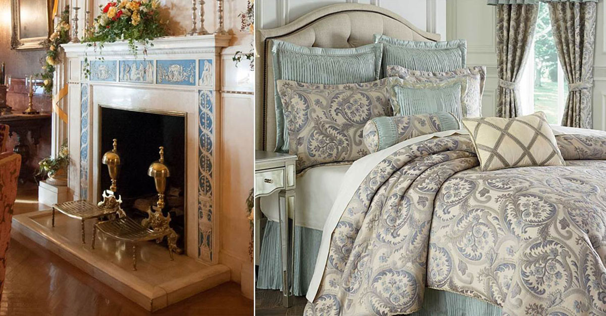 discover our wedgewood bedding collection | biltmore