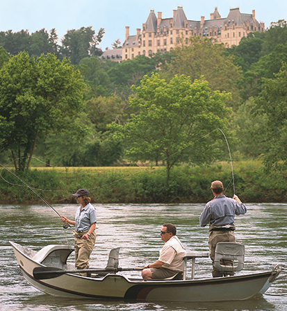 Fly fishing at biltmore biltmore for Nc fishing laws