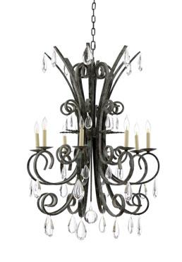 Grand Stairs Chandelier - Verdi