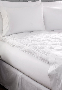 300 Thread Count Scroll Mattress Pad Biltmore