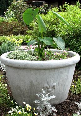25th Anniversary Fleur-de-lis Planter