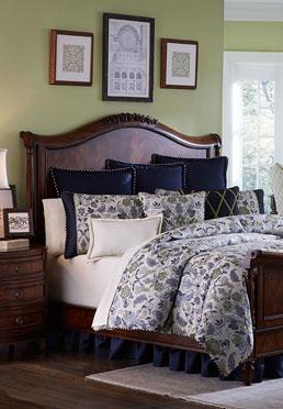 Panel Sleigh Bed Biltmore