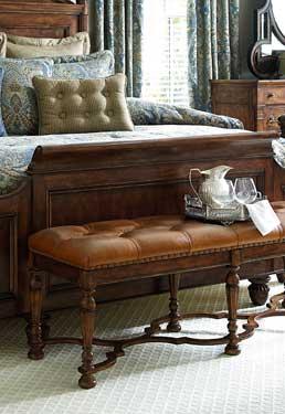 Tufted Bed Bench | Biltmore