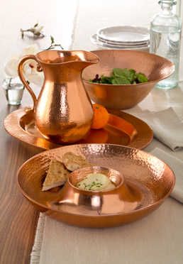 Hammered Copper Collection