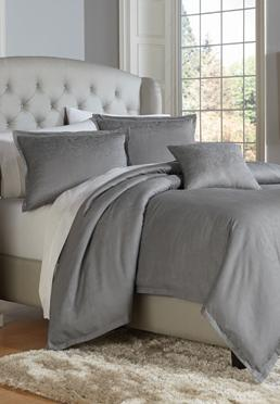 Jacquard Paisley Pewter Duvet Mini Set