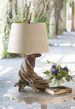 Olmsted Lamp - Oak