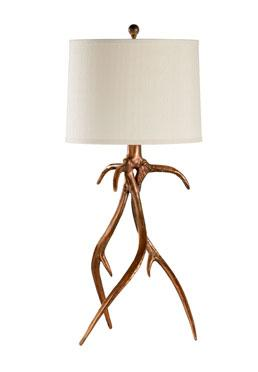 Antler Hall Lamp - Copper