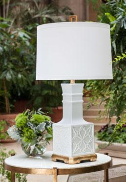 Lila Lamp - White