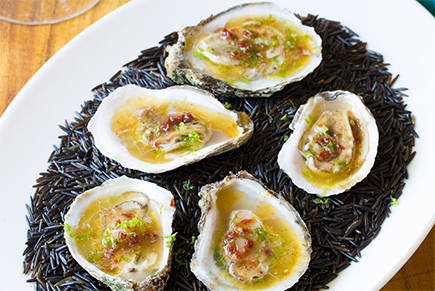 BBQ Grilled Oysters