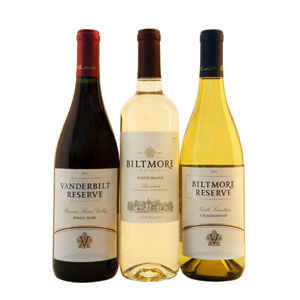 Biltmore Wines Still Trio