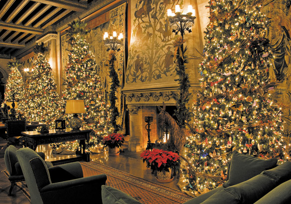 decorating americas largest home for the holiday season is certainly no small task christmas at biltmore is one of the southeasts most storied yuletide