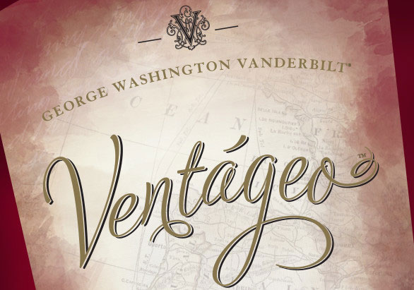Close-up view of Ventageo label