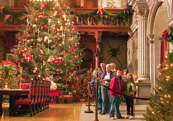 its no secret that christmas at biltmore is one of the southeasts most storied holiday destinations families come from far and wide to experience