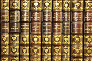 Part of George Vanderbilt's collection of Balzac titles