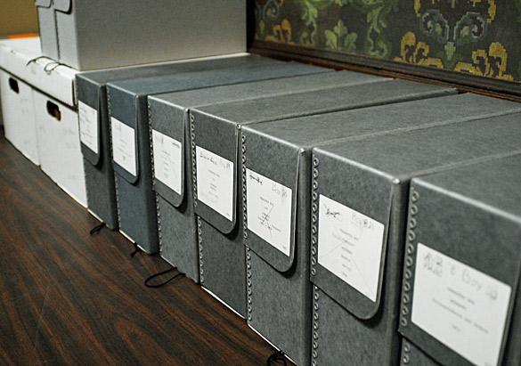 Boxes of Beadle Correspondence