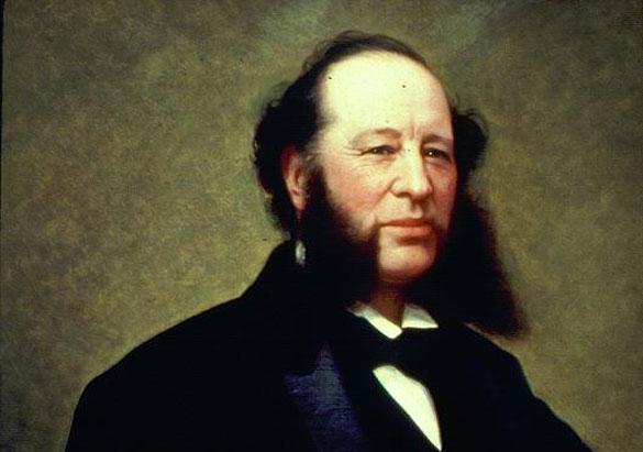 Portrait of William Henry Vanderbilt by Jared B. Flagg, c. 1877