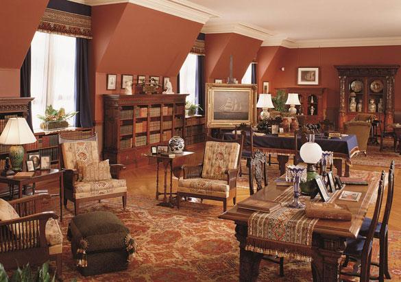 Third Floor Living Hall in Biltmore House