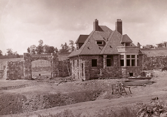 Photograph of The Gardener's Cottage from George Vanderbilt's collection, ca. 1892