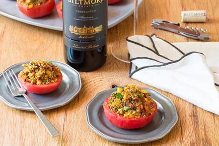 Chorizo Stuffed Tomatoes
