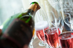 Biltmore Estate Blanc de Noir sparkling wine