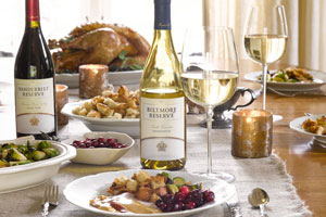 Thanksgiving dinner with Biltmore Wines