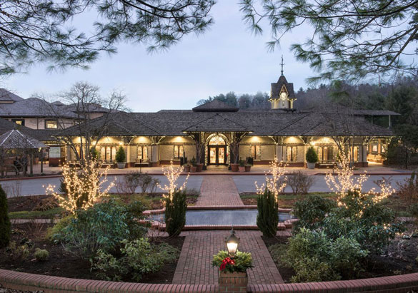 Front entrance of the Biltmore Winery