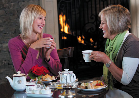 Enjoying Afternoon Tea at The Inn on Biltmore Estate