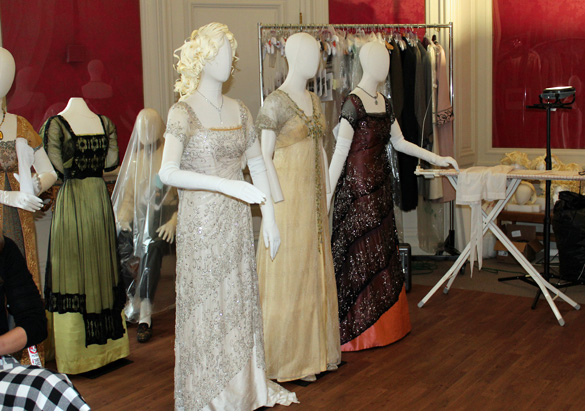 Costumes from the film Titanic