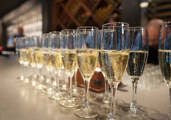 Sparkling wines at Biltmore