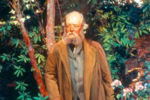 Portrait of Olmsted by John Singer Sargent