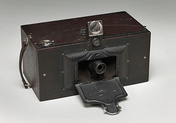 Edith Vanderbilt's No. 4 Panoram Kodak camera Model B, ca. 1900-1903